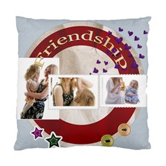 Friendship By Joely   Standard Cushion Case (two Sides)   Qts40ivvueot   Www Artscow Com Back