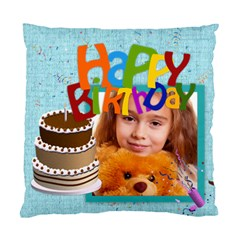 Happy Birthday By Joely   Standard Cushion Case (two Sides)   Cl4bddqan5t9   Www Artscow Com Back