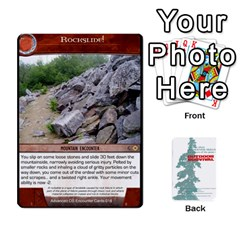 Advanced Outdoor Survival Swamp And Mountain Encounter Deck By Michael   Playing Cards 54 Designs   00p1awo92z1v   Www Artscow Com Front - Diamond4