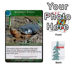 Jack Advanced Outdoor Survival Swamp And Mountain Encounter Deck By Michael   Playing Cards 54 Designs   00p1awo92z1v   Www Artscow Com Front - DiamondJ