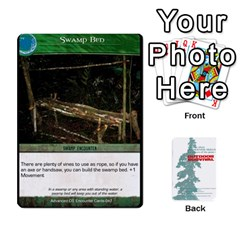 Advanced Outdoor Survival Swamp And Mountain Encounter Deck By Michael   Playing Cards 54 Designs   00p1awo92z1v   Www Artscow Com Front - Club7