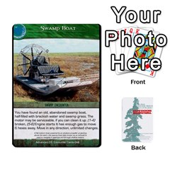 Jack Advanced Outdoor Survival Swamp And Mountain Encounter Deck By Michael   Playing Cards 54 Designs   00p1awo92z1v   Www Artscow Com Front - ClubJ
