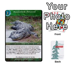 Advanced Outdoor Survival Swamp And Mountain Encounter Deck By Michael   Playing Cards 54 Designs   00p1awo92z1v   Www Artscow Com Front - Joker1