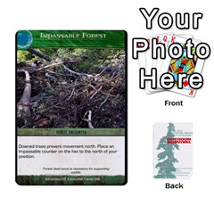 King Advanced Outdoor Survival Forest And Desert Encounter Deck By Michael   Playing Cards 54 Designs   Jf3o4cc8g3ml   Www Artscow Com Front - SpadeK