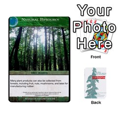 Advanced Outdoor Survival Forest And Desert Encounter Deck By Michael   Playing Cards 54 Designs   Jf3o4cc8g3ml   Www Artscow Com Front - Heart2
