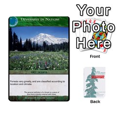 Advanced Outdoor Survival Forest And Desert Encounter Deck By Michael   Playing Cards 54 Designs   Jf3o4cc8g3ml   Www Artscow Com Front - Heart3