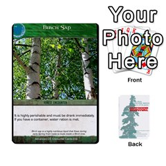 Advanced Outdoor Survival Forest And Desert Encounter Deck By Michael   Playing Cards 54 Designs   Jf3o4cc8g3ml   Www Artscow Com Front - Heart8