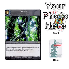Advanced Outdoor Survival Forest And Desert Encounter Deck By Michael   Playing Cards 54 Designs   Jf3o4cc8g3ml   Www Artscow Com Front - Spade4
