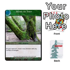 King Advanced Outdoor Survival Forest And Desert Encounter Deck By Michael   Playing Cards 54 Designs   Jf3o4cc8g3ml   Www Artscow Com Front - HeartK