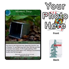 Advanced Outdoor Survival Forest And Desert Encounter Deck By Michael   Playing Cards 54 Designs   Jf3o4cc8g3ml   Www Artscow Com Front - Diamond2