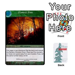 Advanced Outdoor Survival Forest And Desert Encounter Deck By Michael   Playing Cards 54 Designs   Jf3o4cc8g3ml   Www Artscow Com Front - Diamond3