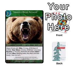 Advanced Outdoor Survival Forest And Desert Encounter Deck By Michael   Playing Cards 54 Designs   Jf3o4cc8g3ml   Www Artscow Com Front - Diamond4