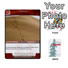 Advanced Outdoor Survival Forest And Desert Encounter Deck By Michael   Playing Cards 54 Designs   Jf3o4cc8g3ml   Www Artscow Com Front - Diamond6