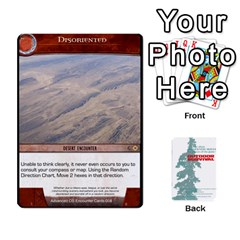 Advanced Outdoor Survival Forest And Desert Encounter Deck By Michael   Playing Cards 54 Designs   Jf3o4cc8g3ml   Www Artscow Com Front - Diamond7