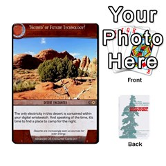Jack Advanced Outdoor Survival Forest And Desert Encounter Deck By Michael   Playing Cards 54 Designs   Jf3o4cc8g3ml   Www Artscow Com Front - DiamondJ