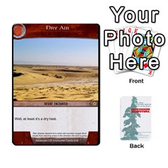 Ace Advanced Outdoor Survival Forest And Desert Encounter Deck By Michael   Playing Cards 54 Designs   Jf3o4cc8g3ml   Www Artscow Com Front - DiamondA