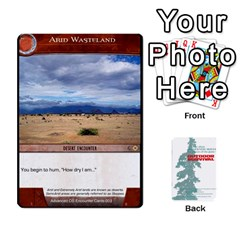 Advanced Outdoor Survival Forest And Desert Encounter Deck By Michael   Playing Cards 54 Designs   Jf3o4cc8g3ml   Www Artscow Com Front - Club3