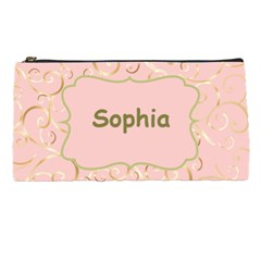 Name And Photo Pink Pencil Case By Deborah   Pencil Case   B0a2ymjp2dx6   Www Artscow Com Front