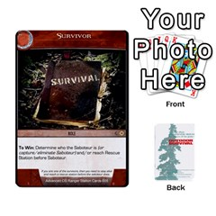 Advanced Outdoor Survival Predators By Michael   Playing Cards 54 Designs   Tn4x273s4afr   Www Artscow Com Front - Club7