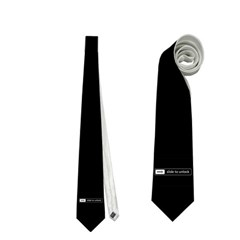 Slide to Unlock Necktie Necktie (Two Side) by shariA