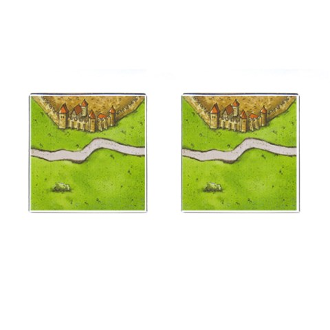 Tile Game Cufflinks By Belling   Cufflinks (square)   Xiqmojr6gffq   Www Artscow Com Front