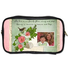 Spring Toiletry Bag By Eleanor Norsworthy   Toiletries Bag (two Sides)   4hict414twm3   Www Artscow Com Front