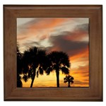 Tropical Vacation Framed Tile