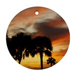 Tropical Vacation Ornament (Round)