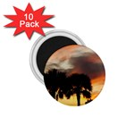 Tropical Vacation 1.75  Magnet (10 pack)