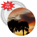 Tropical Vacation 3  Button (100 pack)