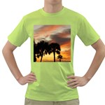 Tropical Vacation Green T-Shirt