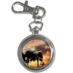 Tropical Vacation Key Chain Watch