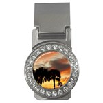Tropical Vacation Money Clip (CZ)