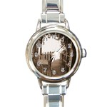 Private Pier Round Italian Charm Watch