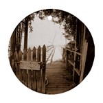 Private Pier Ornament (Round)