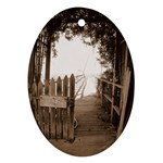 Private Pier Ornament (Oval)