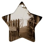 Private Pier Ornament (Star)