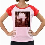 Private Pier Women s Cap Sleeve T-Shirt