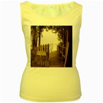 Private Pier Women s Yellow Tank Top