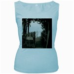 Private Pier Women s Baby Blue Tank Top