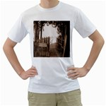 Private Pier White T-Shirt