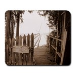 Private Pier Large Mousepad