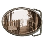 Private Pier Belt Buckle