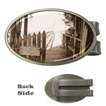 Private Pier Money Clip (Oval)