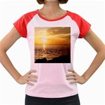 Yellow Sky Women s Cap Sleeve T-Shirt