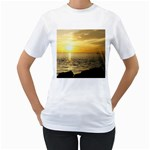 Yellow Sky Women s T-Shirt