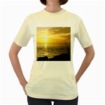 Yellow Sky Women s Yellow T-Shirt