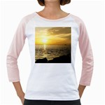 Yellow Sky Girly Raglan