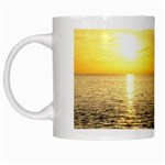 Yellow Sky White Mug