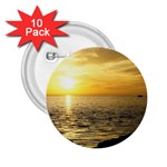 Yellow Sky 2.25  Button (10 pack)